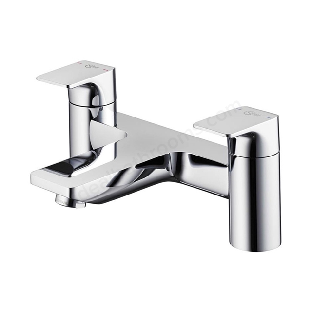 Ideal Standard STRADA Bath Filler Tap, 2 Tap Hole, Chrome