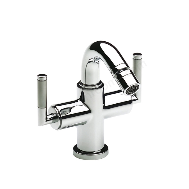 Roca LOFT ELITE Bidet Mixer Tap, Pop Up Waste, 1 Tap Hole, Chrome