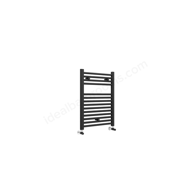 Essential STANDARD Towel Warmer; 690mm High X 500mm Wide; Anthracite Grey