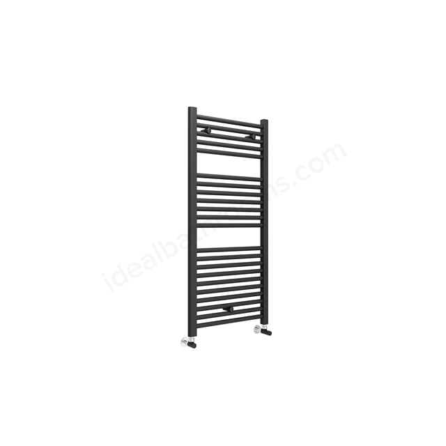 Essential STANDARD Towel Warmer; 1110mm High X 500mm Wide; Anthracite Grey