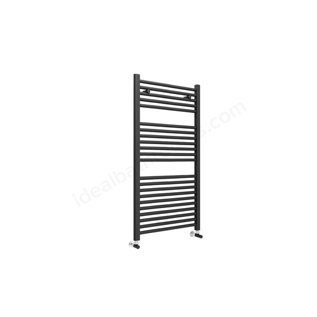 Essential STANDARD Towel Warmer; 1110mm High X600mm Wide; Anthracite Grey