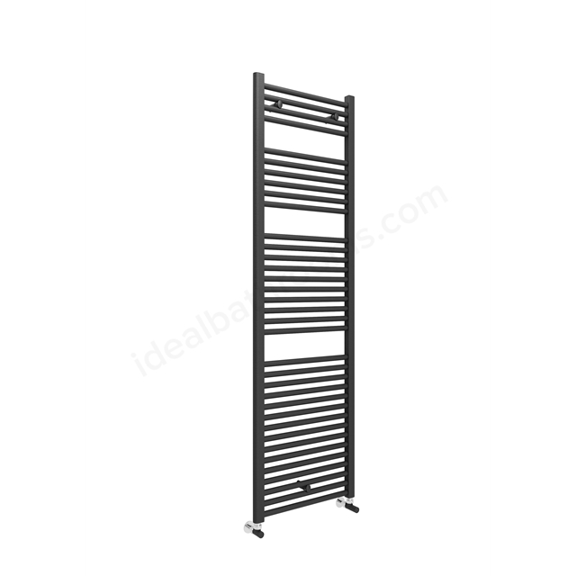 Essential STANDARD Towel Warmer; 1703mm High X600mm Wide; Anthracite Grey