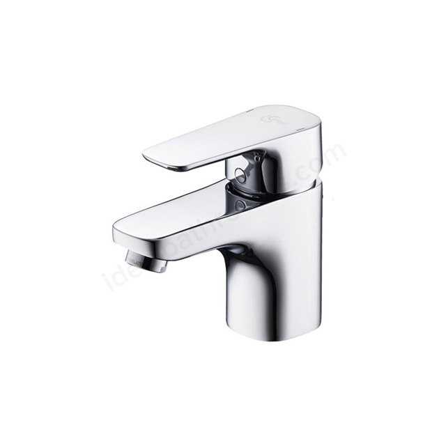 Ideal Standard TEMPO Basin Mixer Tap, with 5 Litre Regulator, No Waste, 1 Tap Hole, Chrome