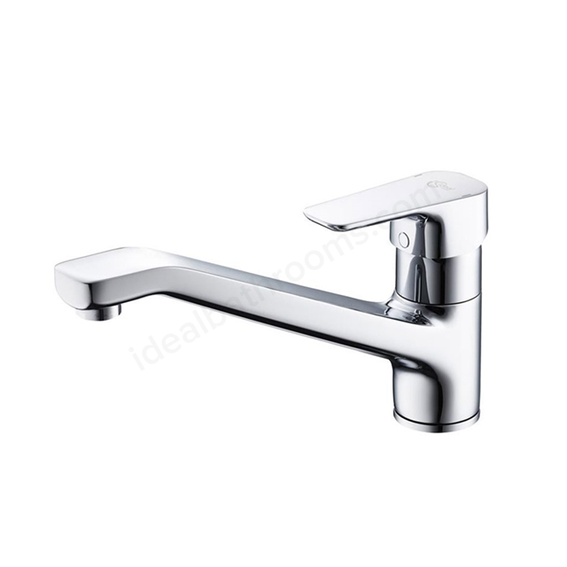 Ideal Standard TEMPO Kitchen Mixer Tap, 1 Tap Hole, Chrome