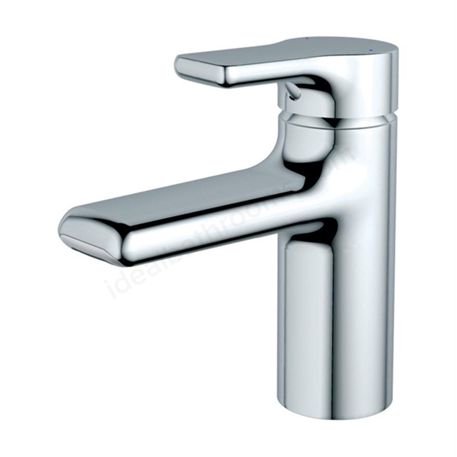 Ideal Standard ATTITUDE Basin Mixer Tap, Waterfall Outlet, with Pop Up Waste, 1 Tap Hole, Chrome