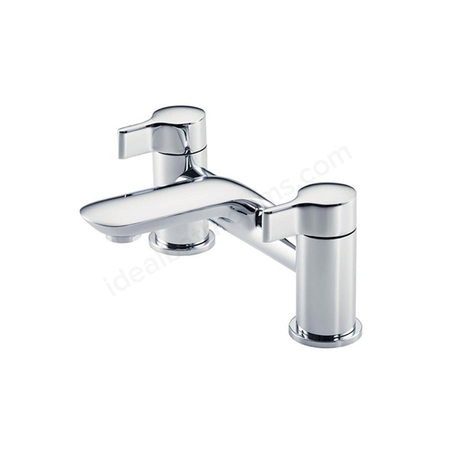 Ideal Standard MELANGE Bath Filler Tap, 2 Tap Hole, Chrome