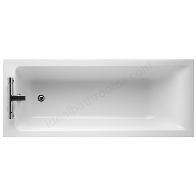 Ideal Standard Idealfrom+ Single Ended; No Tap Hole White; Concept 1500 x 700mm Bath