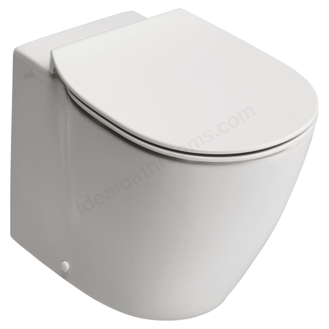Ideal Standard Back-to-Wall WC Bowl with Aquablade technology - Horizontal Outlet