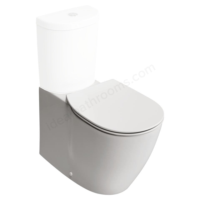 Ideal Standard Back-to-wall Horizontal Outlet Aquablade Technology White WC Bowl