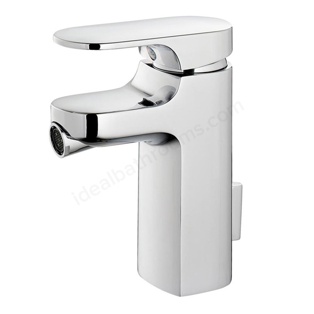 Ideal Standard MOMENTS Bidet Mixer Tap, with Pop Up Waste, 1 Tap Hole, Chrome
