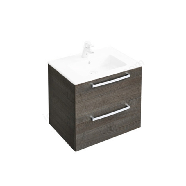 Ideal Standard Tempo 500mm Wall Mounted Vanity Basin Unit - Sandy Grey