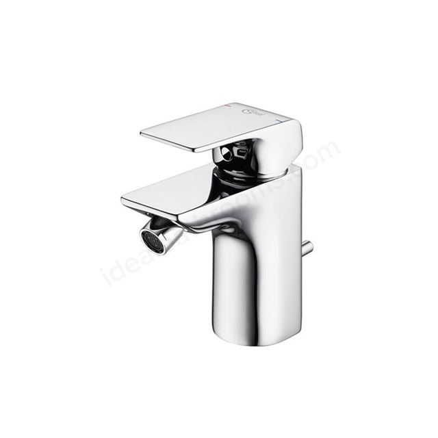 Ideal Standard STRADA Bidet Mixer Tap, with Pop Up Waste, 1 Tap Hole, Chrome