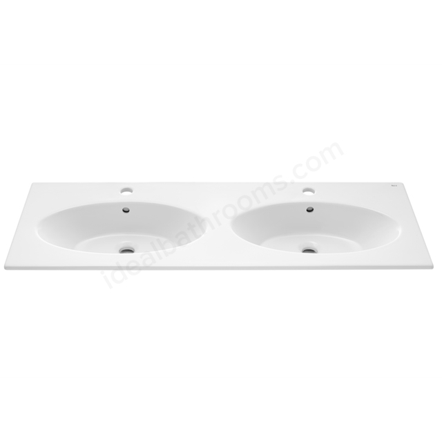 Roca 1200 UNIK OVAL DOUBLE WASHBASIN