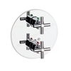Roca LOFT-T Wall Mounted Concealed Thermostatic Bath Shower Mixer Valve Only, with Diverter, Chrome