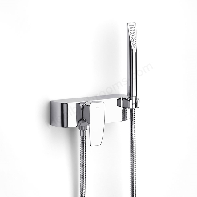 Roca THESIS Wall Mounted Shower Mixer Valve; with Shower Handset