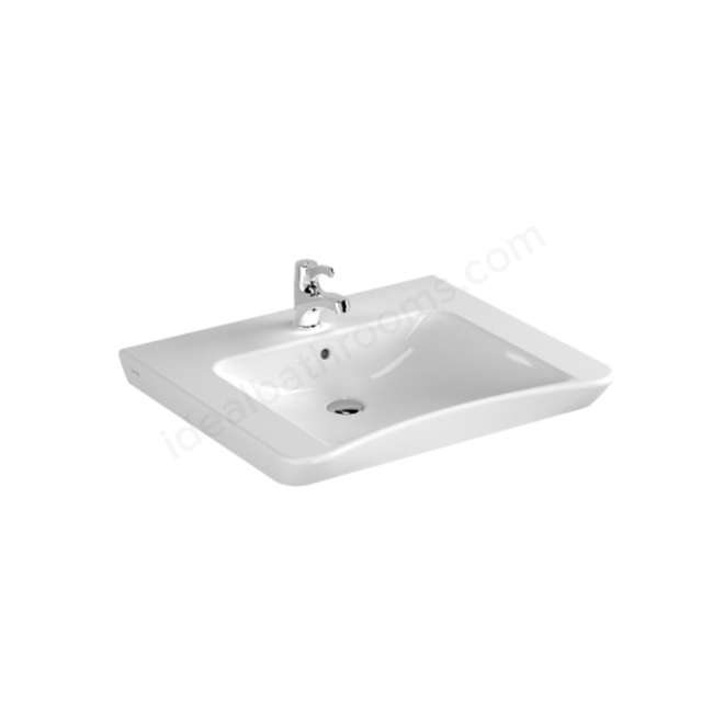 Vitra S20 650mm Washbasin 1 Tap Hole