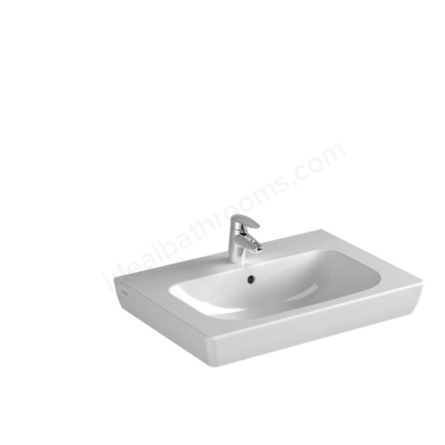 Vitra S20 650mm Vanity Basin 1 Tap Hole