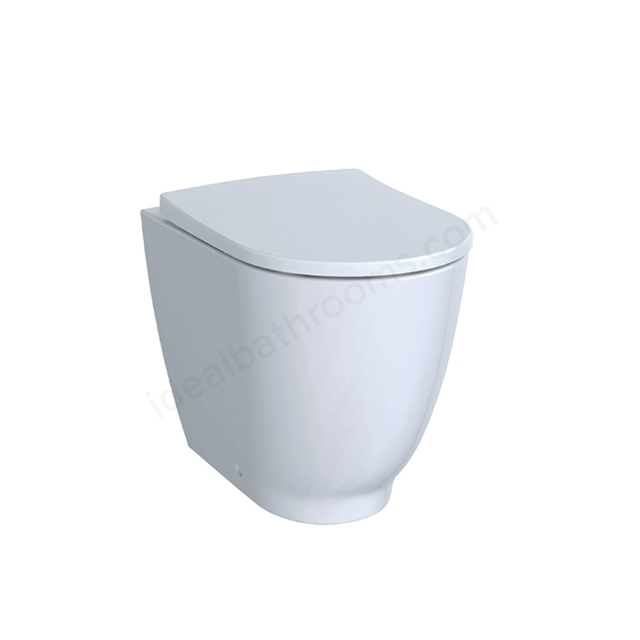 Geberit Acanto Back-to-Wall WC Rimfree