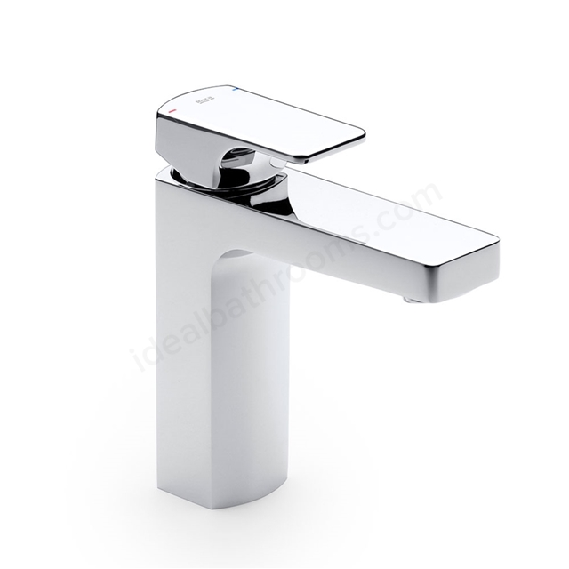 Roca L90 Basin Mixer Tap; No Waste; 1 Tap Hole; Chrome