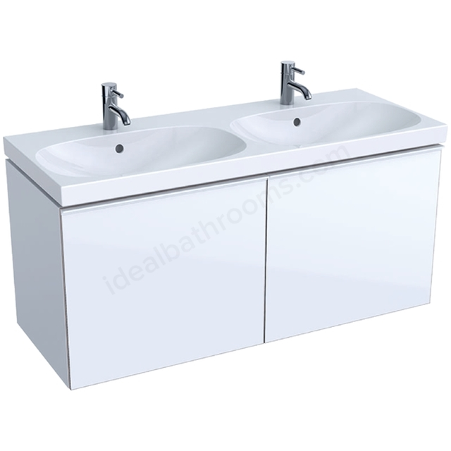 Geberit Acanto 1200mm Washbasin Unit White