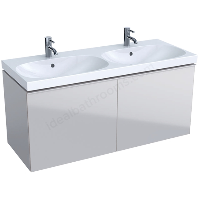 Geberit Acanto 1200mm Washbasin Unit Sand