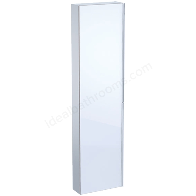 Geberit Acanto 1730mm Tall Mirror Side Unit White