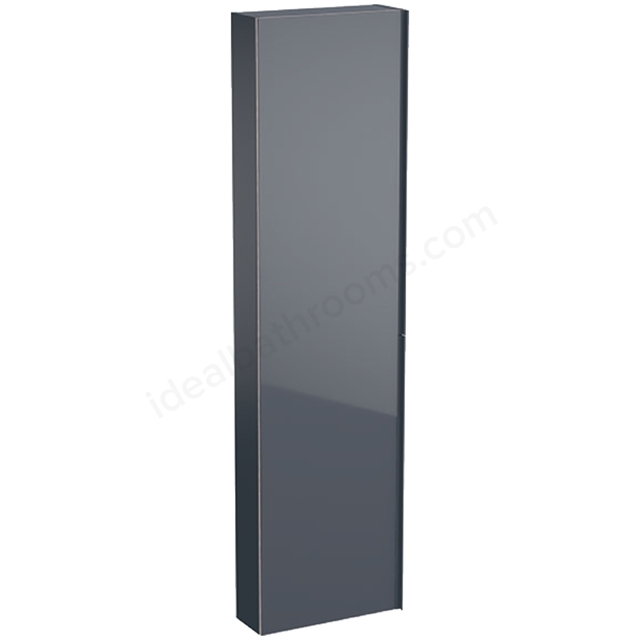 Geberit Acanto 1730mm Tall Mirror Side Unit Lava