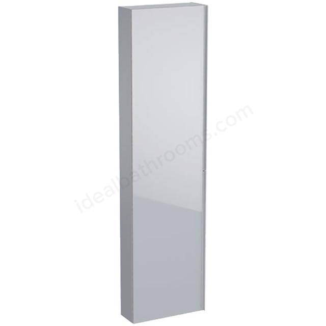 Geberit Acanto 1730mm Tall Mirror Side Unit Sand
