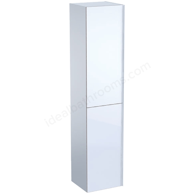Geberit Acanto 1730mm Tall Side Unit White
