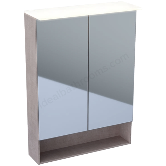 Geberit Acanto 600mm Mirror Cabinet