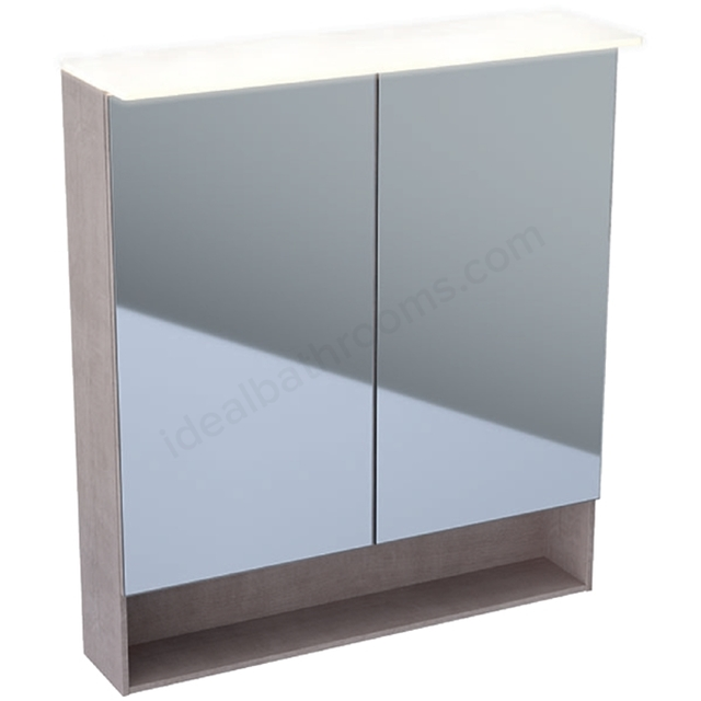 Geberit Acanto 750mm Mirror Cabinet