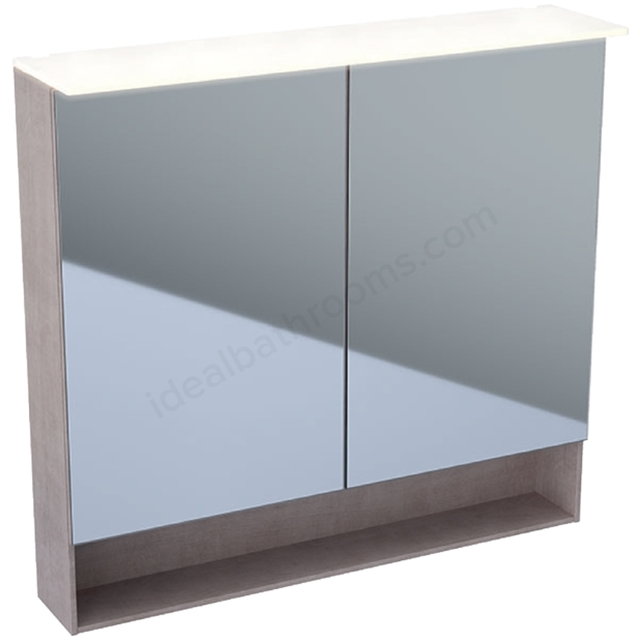 Geberit Acanto 900mm Mirror Cabinet