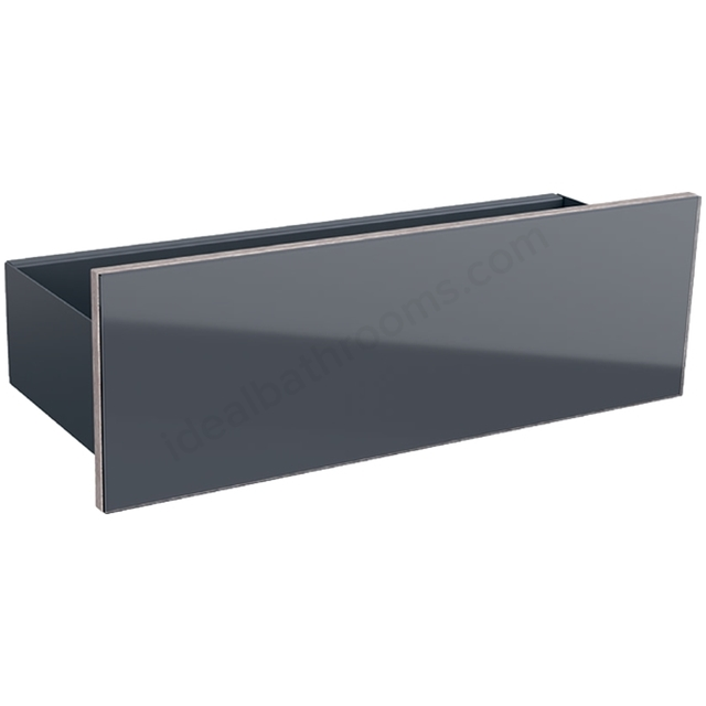 Geberit Acanto Floating Shelf Lava Matt