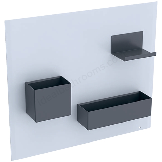 Geberit Acanto Magnetic Wall + Smart Storage Wht