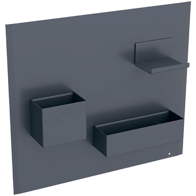 Geberit Acanto Magnetic Wall + Smart Storage Lava
