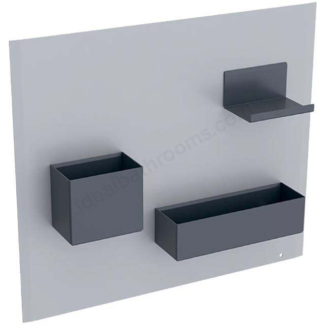 Geberit Acanto Magnetic Wall + Smart Storage Sand