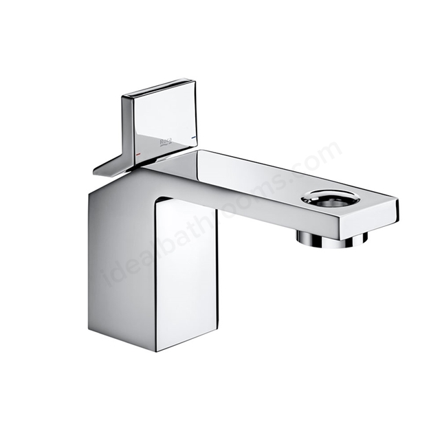 Roca SINGLES PRO Basin Mixer Tap, No Waste, 1 Tap Hole, Chrome