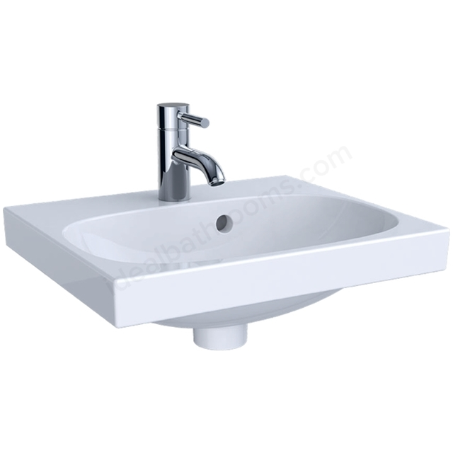 Geberit Acanto 450mm x 380mm 1TH Handrinse Basin
