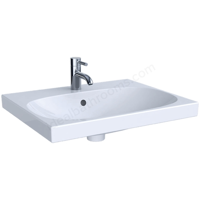Geberit Acanto 600mm 1TH Washbasin