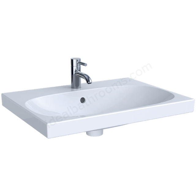 Geberit Acanto 650mm 1TH Washbasin