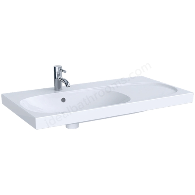 Geberit Acanto 900mm 1TH Asy Basin RH Shelf