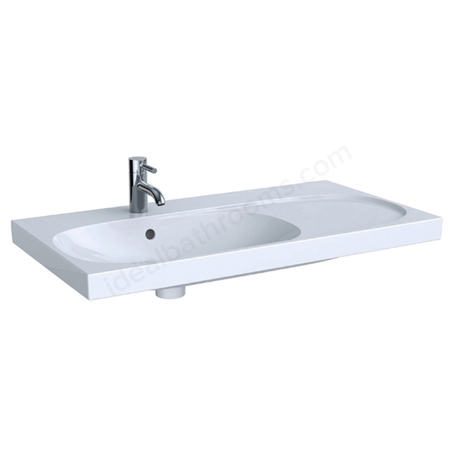 Geberit Acanto 900mm NTH Asy Basin RH Shelf