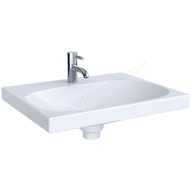 Geberit Acanto 600mm 1TH Basin with Ceramic Clou