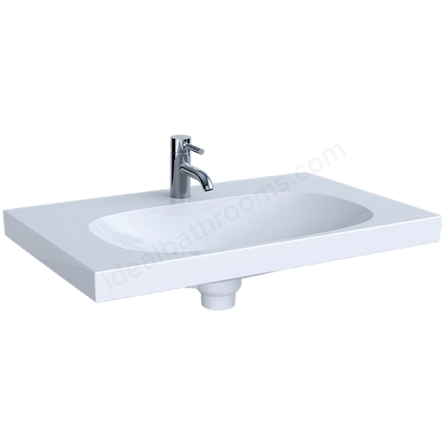 Geberit Acanto 750mm 1TH Basin with Ceramic Clou