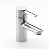 Roca TARGA Basin Mixer Tap, No Waste, 1 Tap Hole, Chrome