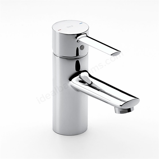 Roca TARGA Basin Mixer Tap; No Waste; 1 Tap Hole; Chrome