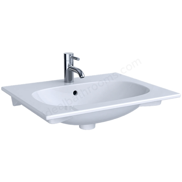 Geberit Acanto 600mm 1TH Slim Rim Washbasin