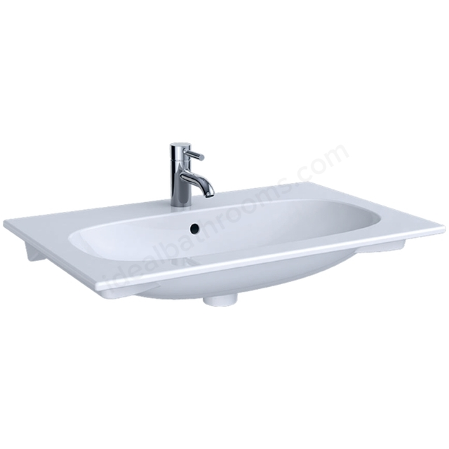 Geberit Acanto 750mm 1TH Slim Rim Washbasin