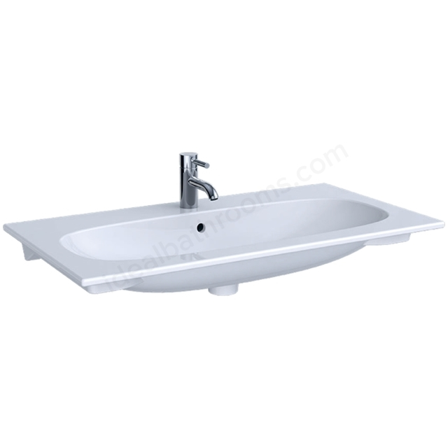 Geberit Acanto 900mm 1TH Slim Rim Washbasin