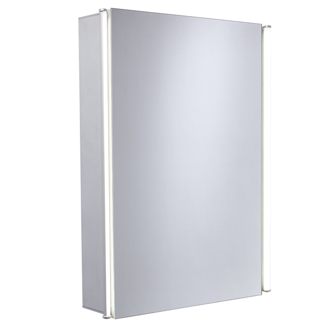 Essential Sleek Mirror single door cabinet